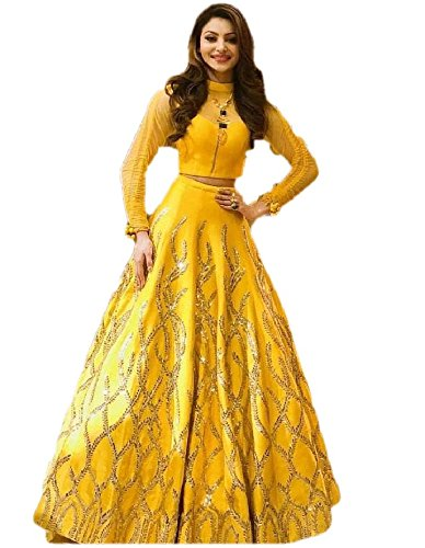 new latest for women Special Wedding Or Party Wear Heavy Embroidery Lehengha...