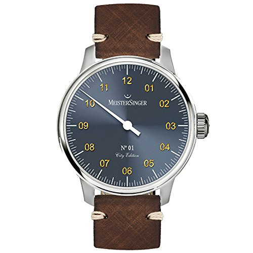 Meistersinger City Edition 2017 Reloj de Hombre Manual 40mm Jerusalem