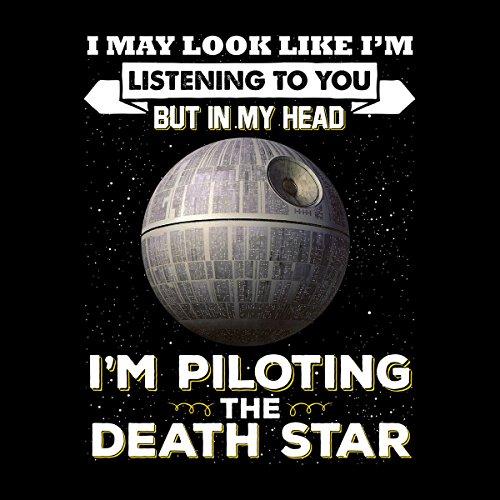 I May Look Like Death Star Star Wars Men's Vest Black