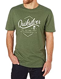 Quiksilver Ss Classic Sea Tales Tee Shirt Homme