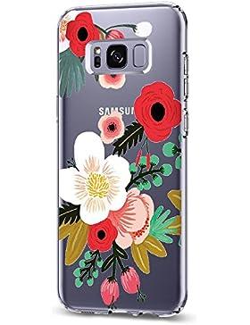 vanki Custodia Samsung Galaxy S8 Plus Cover Morbida di TPU Silikon Cristallo Trasparente Sottile Bordo Proteggi...