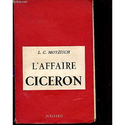 L'AFFAIRE CICERON.