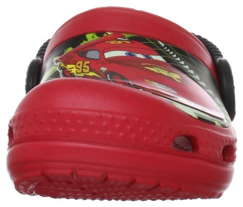 Crocs Lightning McQueen, Sabots mixte enfant Rouge (Red)