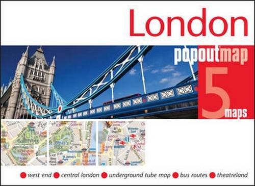 London Popout Map: (edition 2014) (PopOut Maps)