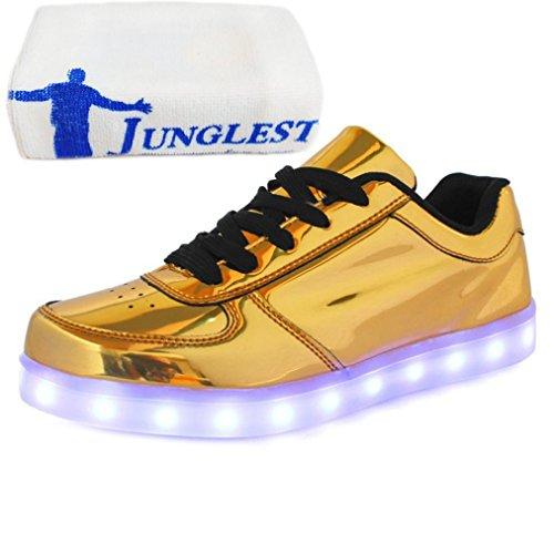 (Présents:petite serviette)JUNGLEST - Baskets Lumin Or