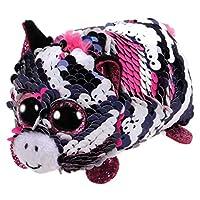 Ty Flippable Teeny Zoey Zebra Plush Toy