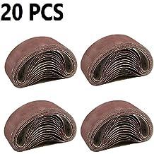 Qualit/é sup/érieure professionnelle Pour diff/érentes surfaces R/éf/érence/: 950726 K 60-75 x 457 mm 10 bandes abrasives HKB/® pour ponceuse /à bande
