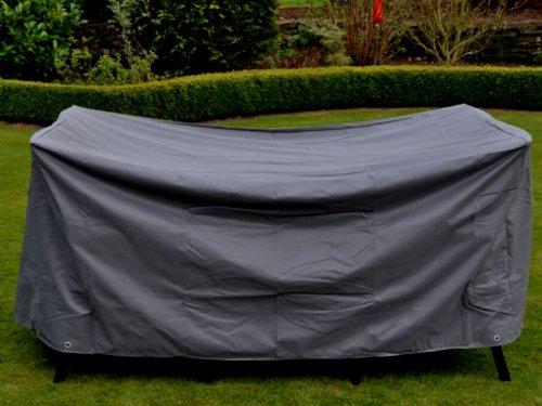Bâche de protection en polyester pour ensemble table de jardin poids : 230 x 155 x 80 cm anthracite 61045