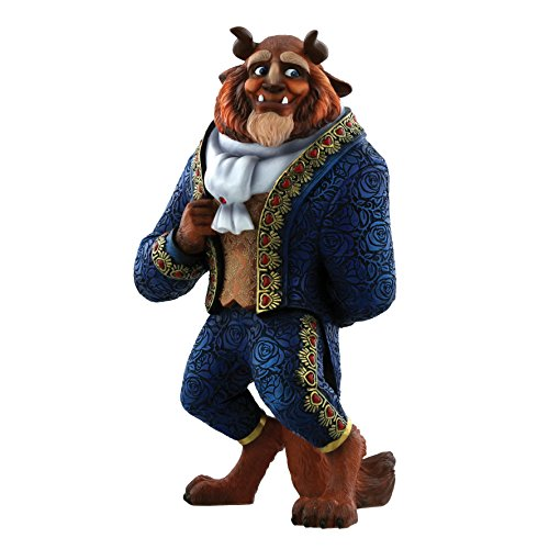 Disney Showcase The Beast Figurine, Resin, Multicolour 15.5 x 12.5 x 27 cm