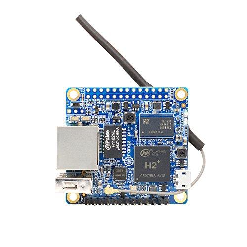MakerHawk Orange Pi Zero H2 Quad Core Open-Source 256MB Development Board mit Wifi Antenne (Lite-source-welt)