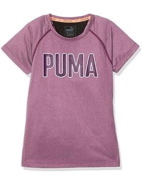 Puma bambini Training Graphic Tee Maglietta, Bambini, Training Graphic Tee, dark purple heather, 140