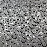4m² Noppenmatte Premium 1,20m x 3,33m | Stärke: 3mm | Dunkelgrau - anthrazit