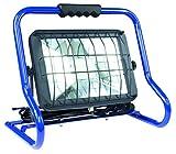 as - Schwabe Mobiler Chip-LED-Strahler 50 W, IP 44 Baustrahler für Aussen und Baustelle, Blau 46429