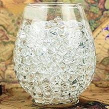 fendii 24bolsas Crystal Gel bolas agua Jelly Beads boda decoración de jarrón, transparente
