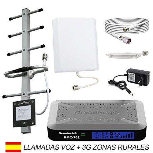 Foto de Amplificador cobertura móvil GSM 3G 900 mhz para zonas de mala cobertura Genuinetek