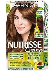 teinture pour les cheveux coloration permanent cheveux nutrisse n 43 brun dor cappuccino - Coloration Cheveux Cappuccino