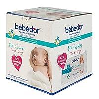 BebeDor İlk Günler Islak Pamuklu Mendil (12'li Eko Paket)