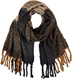 PIECES Damen Schal PCRYAN Checked Long Scarf, Mehrfarbig (Monks Robe), One Size