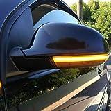 ahanzhu sequentielle Spiegel LED Blinker Lichtanzeige Rückspiegel Blinker
