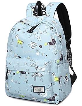 Joymoze Wasserdicht Freizeit Schüler Rucksack Süßes Muster Schule Bücher Tasche für Mädchen
