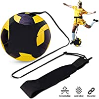 Doact Football Kick Trainer, Solo Football Training Aid - Hands Free with Adjustable Waist Belt - For Kids Beginner Kick Off Trainer