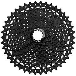 MSC Bikes MS3 Cassette para Bicicleta, Negro, 10V/11-40T