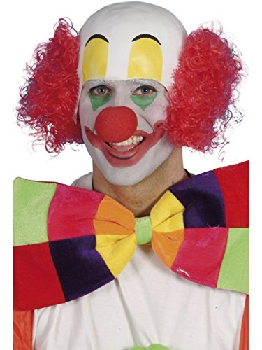 Smiffys Perücke Clown Glatze Karneval Fasching Clownsglatze (Perücke Clown Glatze)
