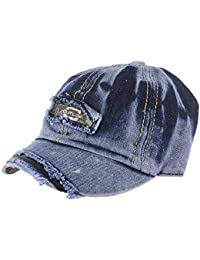 4742eb69b7bed Shop Frenzy Baby Boys  and Girls  Denim Cotton Cartoon Soft Printed  Adjustable Summer Cap