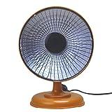 Tianya Mini Handliche Heizung Desktop Tragbare Elektrische Hauptluftheizung Warmes Ventilator Thermostat Elektrische Heizung Elektrischer Heizlüfter (Braun)