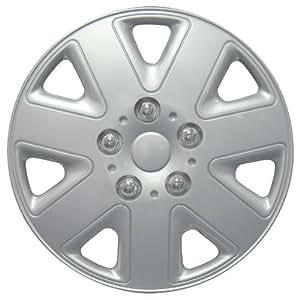"Set of 4 Universal Fit 14"" Hurricane Car Wheel Trims"