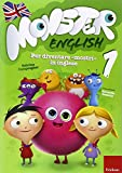 Monster english. Per diventare «mostri» in inglese. Con adesivi: 1