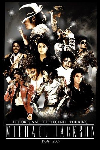 Michael Jackson Foto-Nachdruck 40x30cm