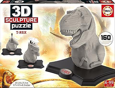 Educa Borrás - 16967.0 - 3D Sculpture Puzzle - T-Rex - 160 pièces