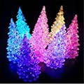 Gemini_mall® Clear Crystal Color Changing Christmas Tree LED Night Light Lamp Christmas Decoration Gifts,1 Pack : everything £5 (or less!)