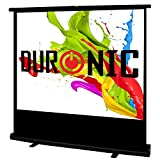 Duronic FPS - Floor Projector Screen - Portable Freestanding 4:3 Widescreen - Retracts into a portable carry case