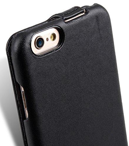 Melkco Jacka Type Mini PU Schutzhülle für Apple iPhone 6Plus, dunkelblau, Apple Iphone 6S Plus/6 Plus schwarz