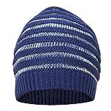 FabSeasons WC59 Acrylic Skull Cap, Men's Free Size (Blue)