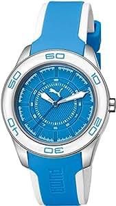Puma Damen-Armbanduhr Tube 3Hd Analog Quarz Plastik PU103032003