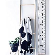Comfysail Medidor enrollable de pared portátil para medir la altura de los niños desde bebés a