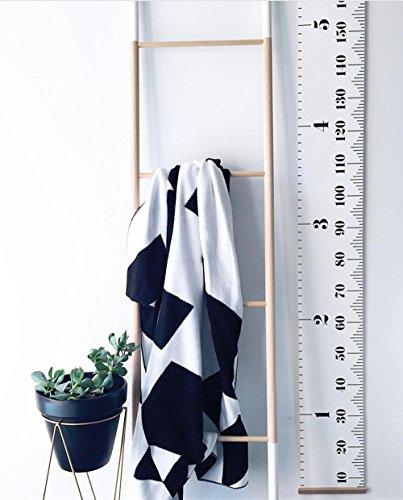 Comfysail Medidor enrollable de pared portátil para medir la altura de los...