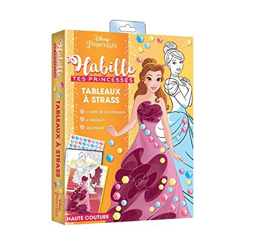 PRINCESSES - Habille tes princesses - pochette Haute couture: Haute couture spécial Strass
