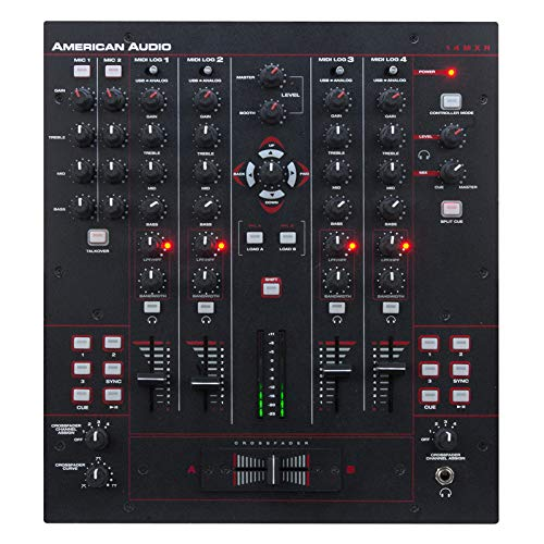 AMERICAN AUDIO 14 MXR DJ Mixer Electronic Mixer