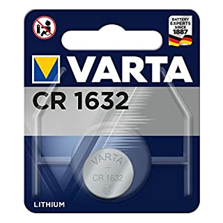 VARTA CR1632 - Pack de 1 pila (litio, 3 V, 135 mAh) (B001PM2DTI) | Amazon price tracker / tracking, Amazon price history charts, Amazon price watches, Amazon price drop alerts