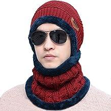 Bestele Caldo Cappello e Sciarpa Set per Uomo Donna 1220b6db88c4