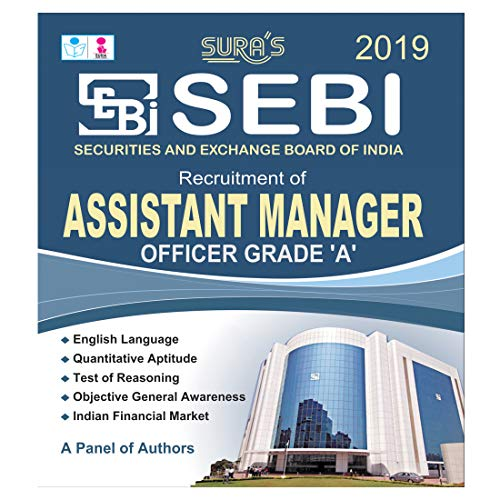 SEBI Assistant Manager Officer Grade A Exam Books