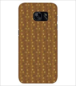 PrintDhaba Pattern D-5261 Back Case Cover for SAMSUNG GALAXY S7 (Multi-Coloured)