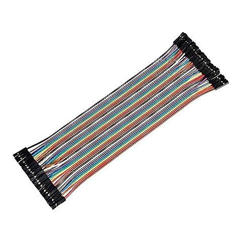 Cable Raspberry - Ganvol 40 pcs 20cm Femelle à Femelle
