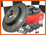 BREMBO MAX Sport Bremsscheiben à 262mm + Beläge vorn Civic CRX III EG2 EH6