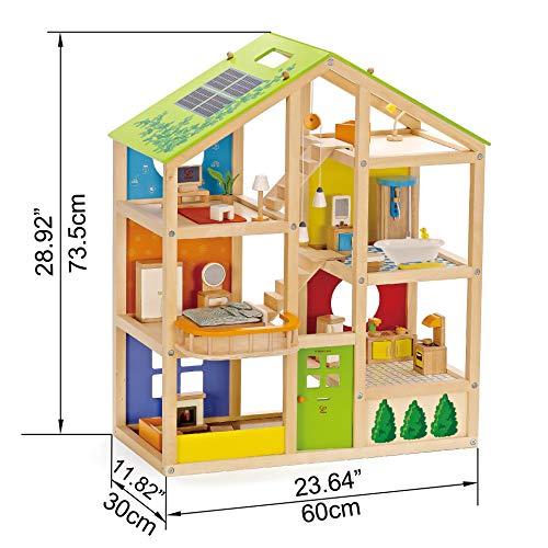Hape Vierjahreszeitenhaus Puppenhaus aus Holz