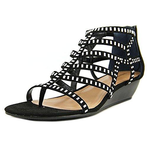 Style & Co Bradey Femmes Synthétique Sandales Compensés Noir